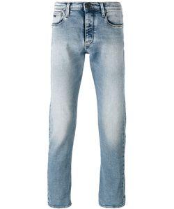 Emporio Armani | Straight Leg Faded Jeans Size 29