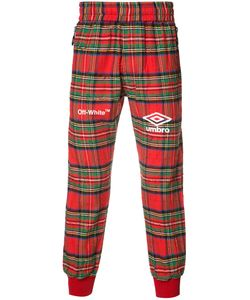 Off-White | Plaid Track Pants Small Cotton