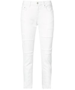 Derek Lam 10 Crosby | Frayed Patch Jeans