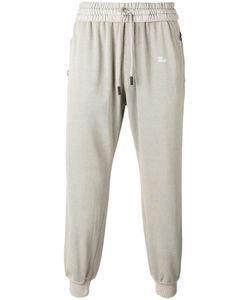 Off-White | Drawstring Track Pants Small Cotton/Spandex/Elastane
