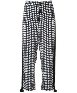Figue   Seville Polka Dot Trousers Small Silk