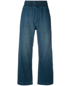 Current/Elliott | Denim Cropped Jeans 2