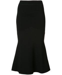 Sally Lapointe | Fluted Hem Skirt
