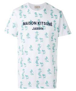 Maison Kitsuné | Logo Print T-Shirt Size Xl