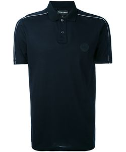 Emporio Armani | Piped Logo Patch Polo Shirt Men
