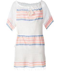 Lemlem | Drawstring Neck Mini Dress Size Xs