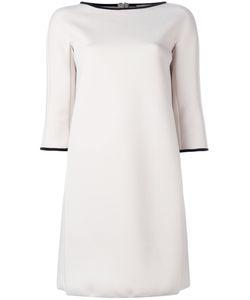 'S Max Mara | S Max Mara Contrast Trim Shift Dress