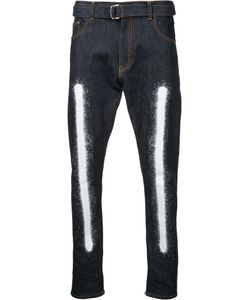 Yoshio Kubo | Spray Painted Loose Fit Jeans