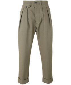 Wooster + Lardini   Cropped Chino Trousers Men