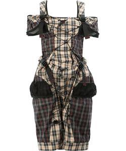 Maison Margiela | Backpack Strap Tartan Dress Size 40