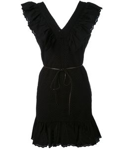 Sonia By Sonia Rykiel | V-Neck Ruffle Dress