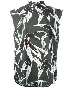 Marni | High Neck Printed Blouse Size
