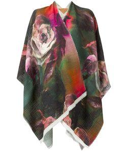 Ermanno Gallamini | Roses Print Poncho