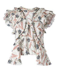 Isabel Marant | Ruffled Print Top Size 36