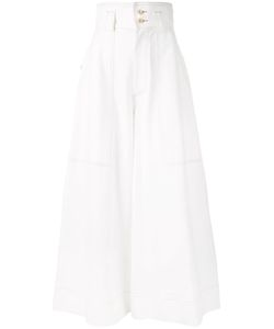 Mikio Sakabe   High Waist Wide Leg Trousers Size Medium