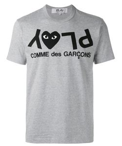Comme Des Garçons Play | Inverted Logo T-Shirt