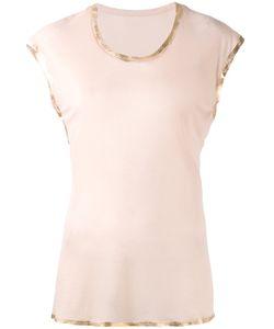Zadig & Voltaire | Ribbon Trim T-Shirt Size Medium