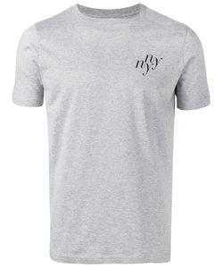 Saturdays Surf Nyc | Ny Print T-Shirt Large Cotton