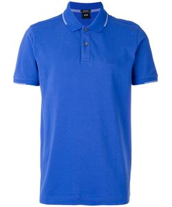 Boss Hugo Boss   Embroidered Polo Shirt Size Medium