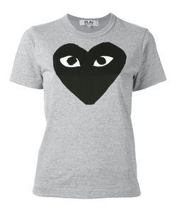 Comme Des Garçons Play   Heart Print T-Shirt Size Medium
