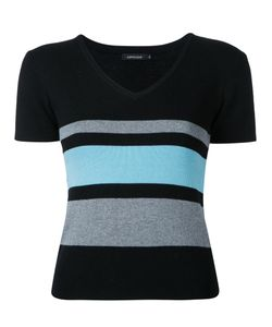Loveless | Striped Knit T-Shirt 7