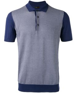 Corneliani   Grid Polo Shirt 52