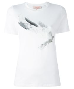 A.F.Vandevorst   Dove Print T-Shirt 34 Viscose/Spandex/Elastane