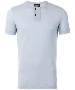 Giorgio Armani | Collarless Polo Shirt Size 46