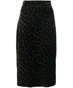 Odeeh | Leopard Pencil Skirt Women 34