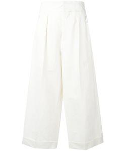Marni | Cropped Wide Leg Trousers Size 38