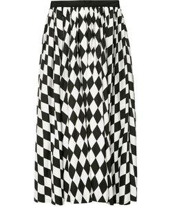 Tome | Diamond Print Full Skirt