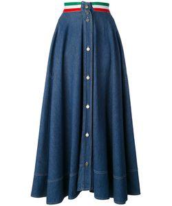 Moschino Vintage | Italian Flag Denim Skirt