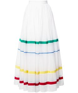 Maison Rabih Kayrouz | Stripe Panel Full Skirt Women