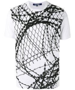 Junya Watanabe Comme Des Garçons   Man Wire Print T-Shirt