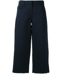 'S Max Mara | S Max Mara Wide-Legged Cropped Trousers