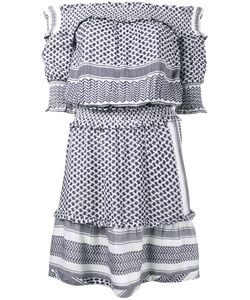 Cecilie Copenhagen | Keffiyeh Off-Shoulder Dress