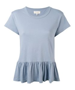 The Great   Peplum T-Shirt Xs