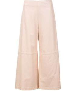 Adam Lippes | Cropped Wide-Leg Trousers