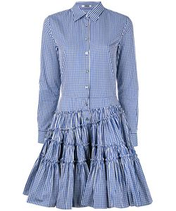 Jourden | Checked Flared Shirt Dress Women