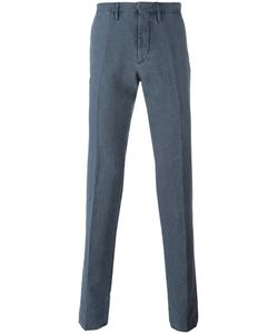 Incotex | Tailo Denim Trousers 54 Cotton/Linen/Flax