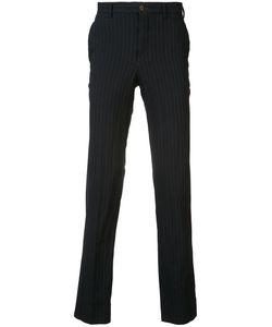 Comme Des Garçons Homme Plus   Pinstripe Tapered Trousers Size Medium