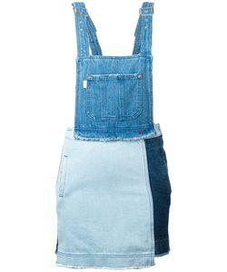 Steve J & Yoni P | Denim Overall Dress