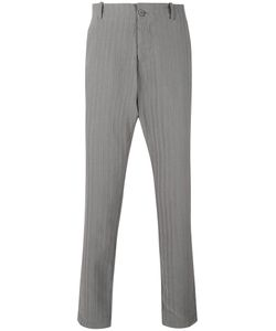 Transit | Pinstripe Tapered Trousers Xs