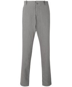 Transit | Pinstripe Tapered Trousers Xs