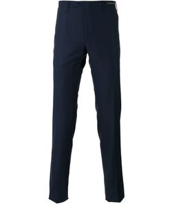 Pt01 | Tonal Pattern Tailored Trousers Size 46
