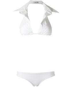 Amir Slama   Triangle Bikini Set Medium Elastodiene