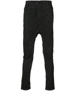 11 By Boris Bidjan Saberi | Skinny Drop-Crotch Trousers Size Small
