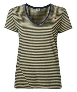 Sonia By Sonia Rykiel | V-Neck Striped T-Shirt Size Large