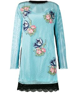 House Of Holland | Embroidered Mesh Dress