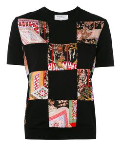 Salvatore Ferragamo | Patchwork Jersey T-Shirt